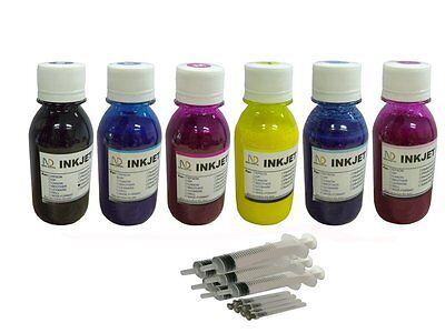 $39.99 • Buy Sublimation Refill Ink For Epson 98 99 Artisan 700 725 730 800 810 837 6x100ml