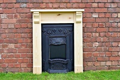 £95 • Buy Fire Surround With Corbels Pine Bedroom / Brackets. Plus Made To Measure Wooden