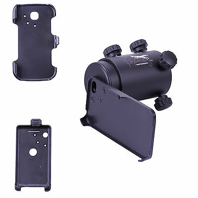 IScope Smartphone Rifle Scope Adapter Complete Kit For Iphone 4 3GS S2 Android 2 • 6.39£