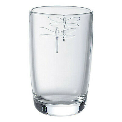 La Rochere Glassware - Long Drink Glass - Libellule/Dragonfly 400ml • 5.95£