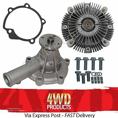 AU129 • Buy Water Pump/Fan Clutch SET For Mitsubishi Triton ME MF MG MH MJ 2.6P 4G54 (86-96)