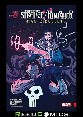 DOCTOR STRANGE / PUNISHER MAGIC BULLETS GRAPHIC NOVEL Collects 4 Part Series • 12.50£