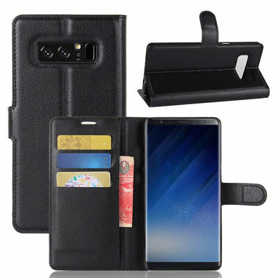 $ CDN13.20 • Buy Samsung Galaxy Note 8 Phone Flip Wallet Full Case Cover Luxury Stand PU Leather