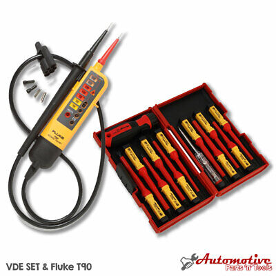 Electricians Testing VDE Tool Kit Fluke T90 & 1AC - Insulated Screwdriver Set • 86.99£