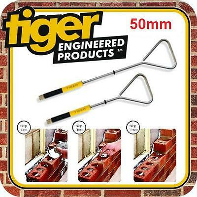 50mm Tiger Wall Ties Fixings Cavity Starter Ties Pack Of 10 Wire Wall Brick • 17.45£