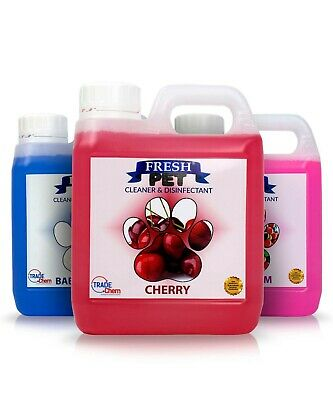 FRESH PET 1L With Spray - Kennel Cattery Cleaner Disinfectant & Deodoriser • 6.92£