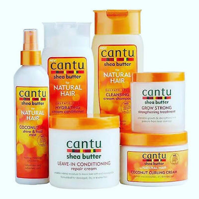 £5.99 • Buy Cantu Shea Butter Professional Hair Afro Care CONDITIONER CURL REPAIR SHAMPOO