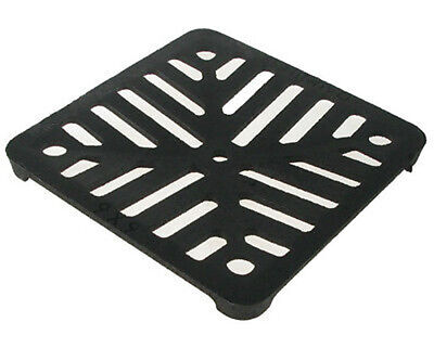 £8.99 • Buy Square 5  (125mm) Cast Iron Heavy Duty Gully Grid Drain Cover Grate Metal