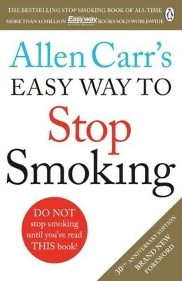 AU25.95 • Buy Allen Carr's Easy Way To Stop Smoking Carr New Paperback Book IN STOCK NOW Carrs