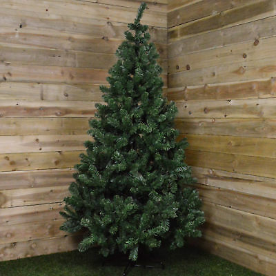 7ft (210cm) Imperial Pine Christmas Tree In Green With 770 Tips 137cm Diameter • 60.25£