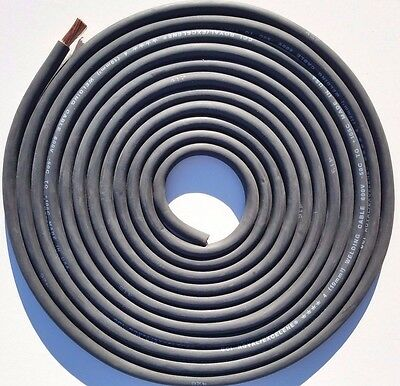 AU25.27 • Buy 17' Foot, 4 AWG Gauge Stranded Copper Power Wire, Flexible Welding Battery Cable