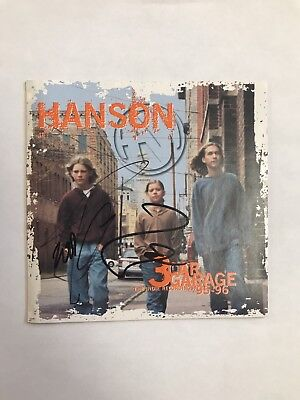 $ CDN182.17 • Buy The Hanson Brothers Signed  3 Car Garage  Cd Cover Taylor Zac Coa Rare!! Proof!!