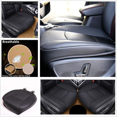 $ CDN37.62 • Buy Black PU Leather Deluxe Car Seat Cover Protector Cushion Sedan Front Seat Cover
