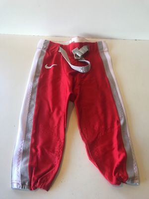 $19.99 • Buy Slightly Used Football Game Pants NIKE  Red/Grey/White Size XL