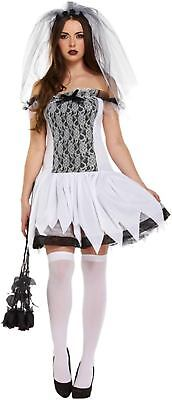 Halloween Fancy Dress Up Outfit Costume Adult Sexy Bride One Size Adult Female • 9.62£