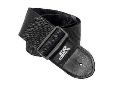 $ CDN7.24 • Buy Monoprice Guitar Strap - 2 Inch - Black With Synthetic Leather Ends
