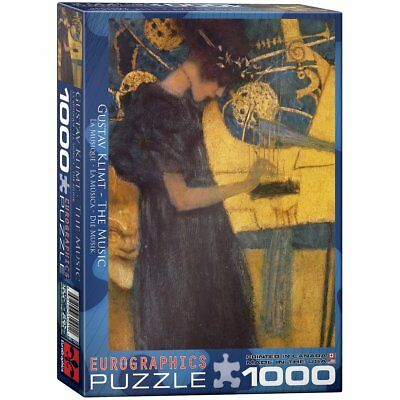 $ CDN59.79 • Buy Eurographics The Music By Gustav Klimt Puzzle 1000 Pieces