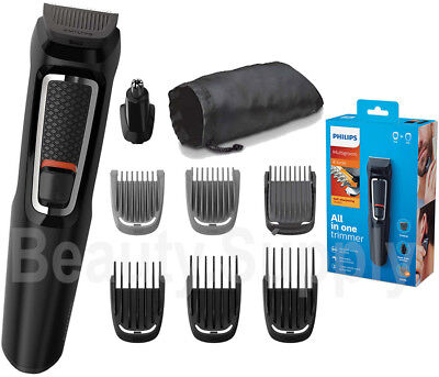 AU69.90 • Buy Philips MG3730 Rechargaable All In One Beard/Nose/Stubble/Hair Trimmer