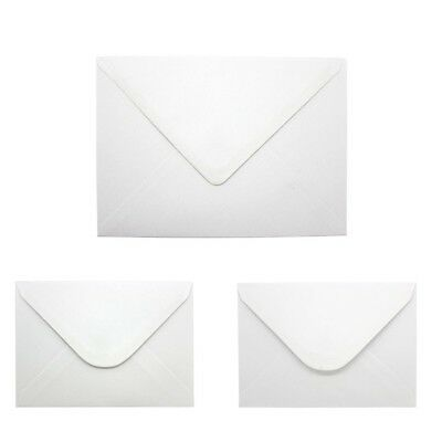 £11.89 • Buy C5 C6 White Gummed Diamond Flap Small Envelopes Perfect For Cards & Invitations