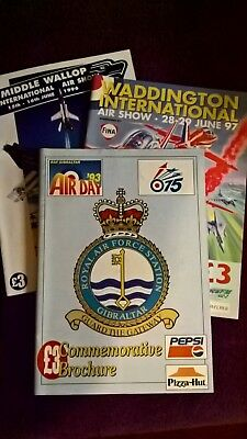 £10 • Buy Airshow Programmes, Mid 90's Various Locations