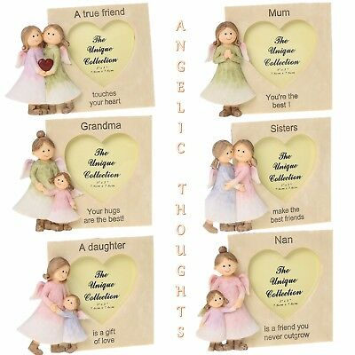 £5.99 • Buy Angelic Thoughts Frames Ornament Decoration Home Gift -  Daughter Friend Sister