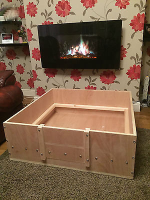 £130 • Buy Whelping Box 42  X 42 --105 Cm X 105 Cm Whelping Box Free Postage Or Delivery