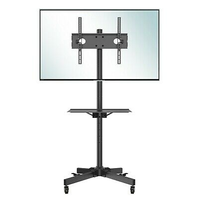 £52.79 • Buy Mobile TV Cart Floor Stand Mount Home Display Trolley For 23 -60  Plasma/LCD/LED