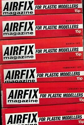 Various Issues Of AIRFIX Magazine From September 1964 To January 1985 • 3.95£