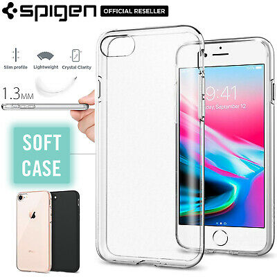 AU24.99 • Buy [FREE EXPRESS] IPhone 8 Case, Spigen Liquid Crystal Cover For Apple