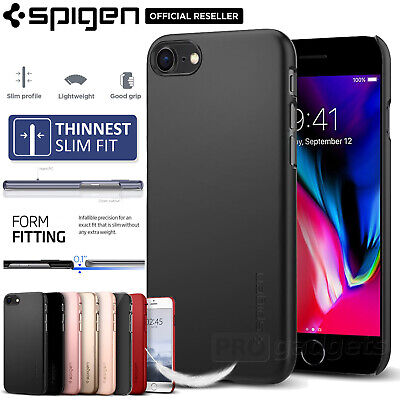 AU24.99 • Buy [FREE EXPRESS] IPhone 8 Case, Spigen Thin Fit Cover For Apple