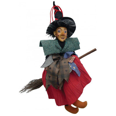 Witches Of Pendle - Jane Bulcock Witch Flying (Red) 35cm (WOPJANEBULC35RED) • 18.95£