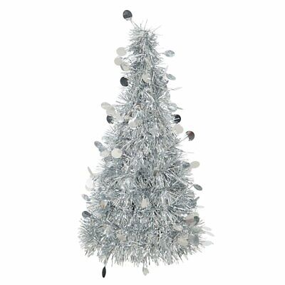 Christmas Tinsel Tree Party Table Centrepiece  • 3.49£