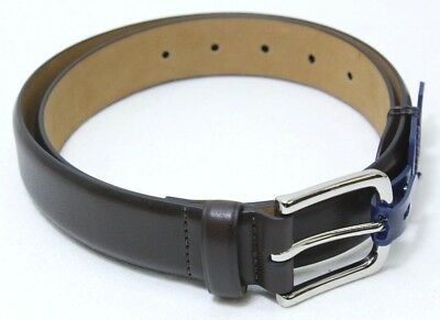 $21.27 • Buy Cole Haan 32mm Dress Calf Leather Belt CHRM31051 - Chocolate - Size 40 - NEW