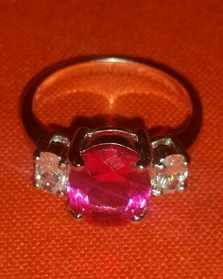 $60 • Buy Charles Winston - Created Pink Sapphire Ring