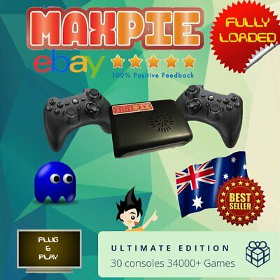 AU279.95 • Buy MaxPie Ultimate Edition Raspberry Pi 3 RetroPie - Retro Games- Retropi