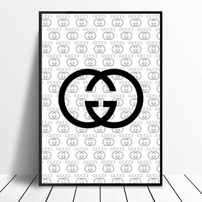 01abcababd1 Exclusive Design Gucci Poster Print Photo Picture A4 A3 Designer Fashion  Gift • 10.33