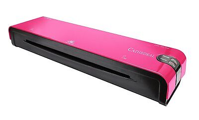 A4 Heated Electric Laminator High Quality Cathedral Machine Roller A5 - Pink • 19.99£