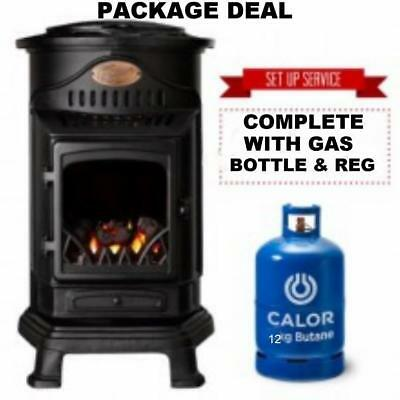 New Provence Calor Portable Mobile Heater Complete With Full Gas Bottle & Reg • 2,369.95£