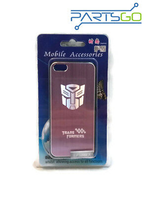 £1.44 • Buy Transformers Brush Aluminum Case Cover For IPhone 5/ 5s PINK *USA*