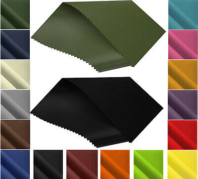 £0.99 • Buy Canvas Fabric 20oz Heavy Duty Thick Waterproof 600D Outdoor Cover Sold By Metre