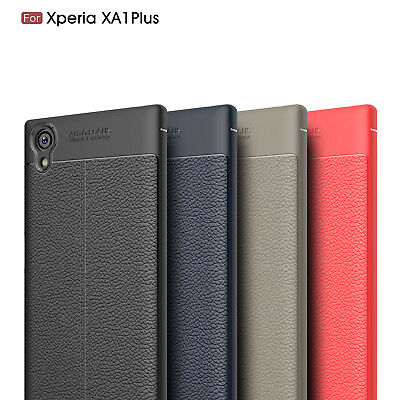 AU9.56 • Buy For Sony Xperia XA1 Plus Ultra Thin PU Leather Soft TPU Shockproof Case Cover