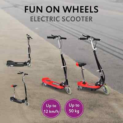 AU213.99 • Buy VidaXL Electric Scooter With/no Seat Portable Children Kids Mobility Red/Black