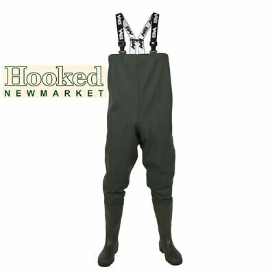 £55.95 • Buy Vass Tex 600 Series PVC Chest Waders -   ALL Sizes -   FREE NEXT DAY DELIVERY