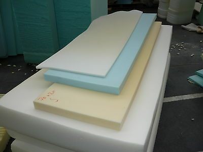 £0.99 • Buy FOAM UPHOLSTERY FOAM SHEETS/PIECES CUT TO 50 X 20  X Any Thickness 1/2  TO 5