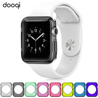 $ CDN6.91 • Buy TPU Bumper Protective Case For Apple Watch Series SE 6 5 4 3 2 1 38/42/44/40 Mm