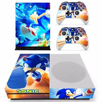 $13.20 • Buy Sonic The Hedgehog Xbox One S Slim Console Vinyl Skin Decals Stickers Wrap Cover