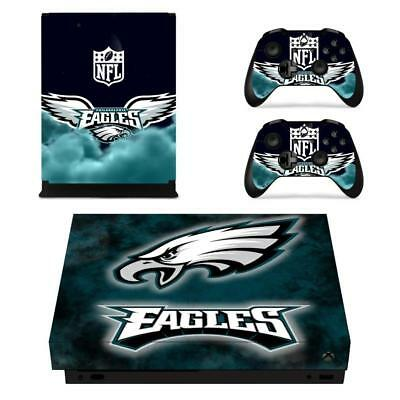 $10.80 • Buy Philadelphia Eagles NFL Xbox One X Console Vinyl Skin Decals Stickers Covers