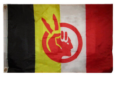 $8.24 • Buy 2x3 Ft American Indian Movement Flag Native American Rights Protest Banner AIM
