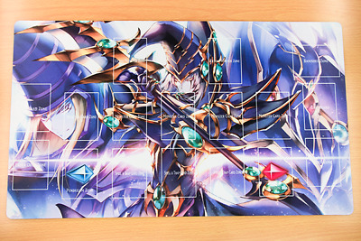 AU34.20 • Buy F2323+ Free Mat Bag Yugioh Dark Magician Trading Card Game Playmat With Zones