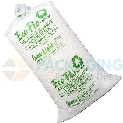 £23.50 • Buy New Packing Peanuts Chips Loose Fill Good Quality Polystyrene Jumbo Pack 15CU/FT